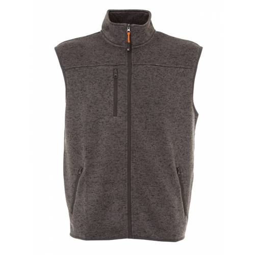 BONN | GILET IN KNITTED FLEECE