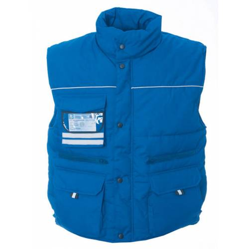 GREAT BRITAIN | GILET BICOLORE 65% POLYESTERE - 35% COTONE