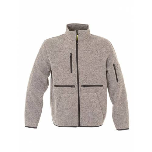 HANNOVER | MAGLIA ZIP LUNGA IN KNITTED FLEECE