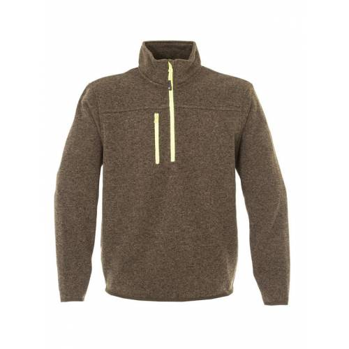MICHIGAN | MAGLIA COLLO ALTO IN KNITTED FLEECE