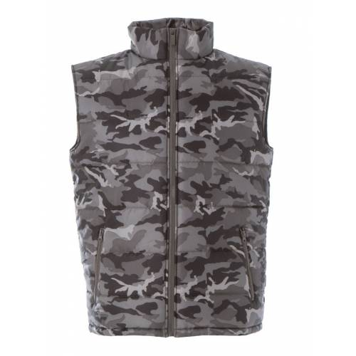 NEW SHANGHAI | GILET IN NYLON LUCIDO IMPERMEABILE