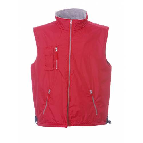 PORTUGAL | GILET IN POLYESTERE PONGEE