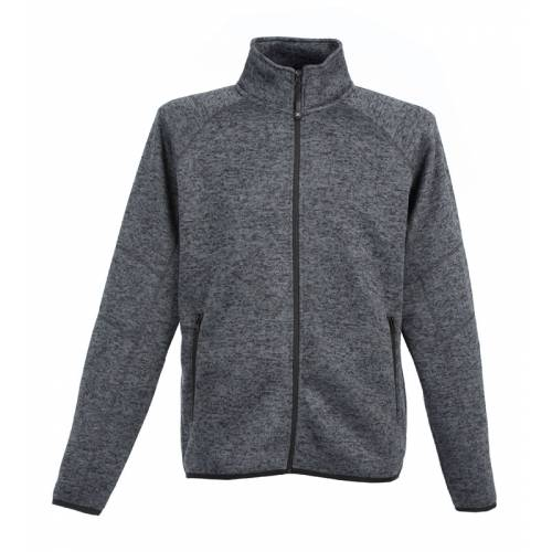 LEICHESTER | MAGLIA ZIP LUNGA IN KNITTED FLEECE