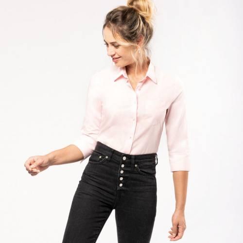 K558 | Camicia donna con maniche 3/4