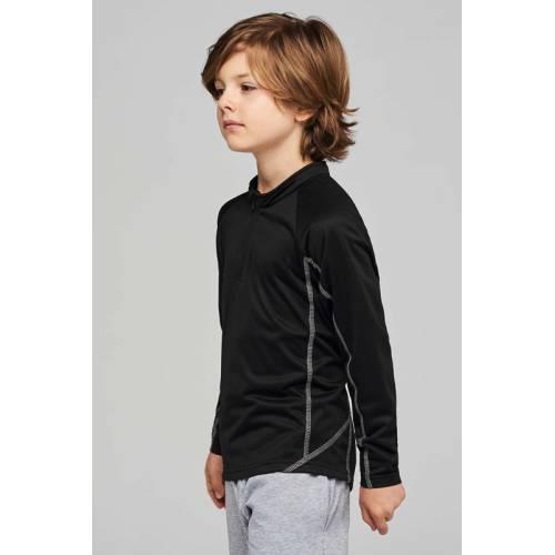 PA346 | Felpa bambino da running 1/4 zip