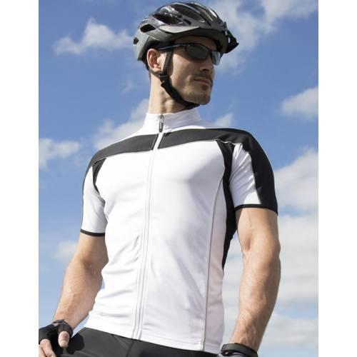 S188M | T-shirt Bike con zip intera