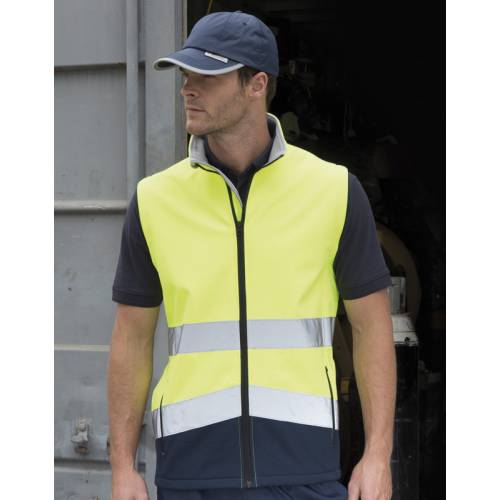 R451X | Bodywarmer Softshell Printable Safety