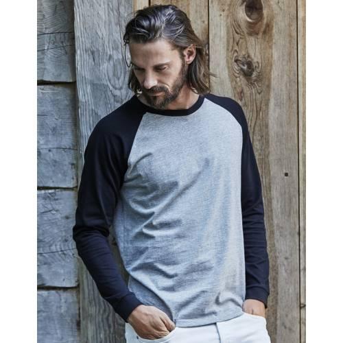 TJ5072 | T-shirt Baseball maniche lunghe