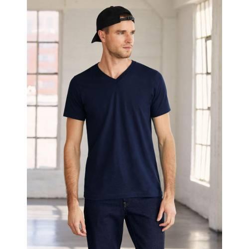B3005 | T-shirt uomo Jersey con scollatura a V
