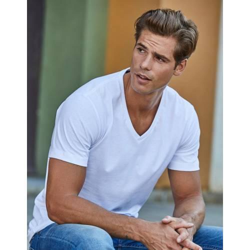 TJ8006 | T-shirt uomo Fashion con scollo a V