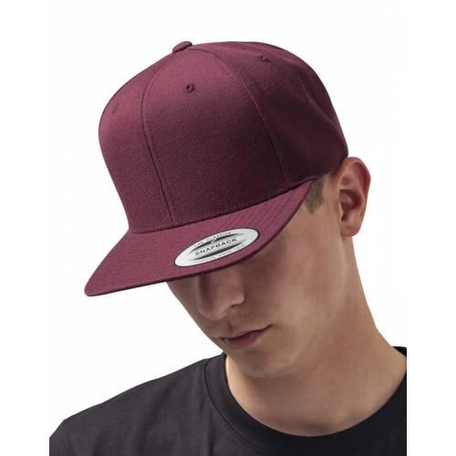 YU6089M   Cappellino chiusura a scatto Classic