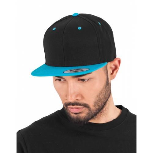 YU6089MT   Cappellino bicolore con chiusura a scatto Classic