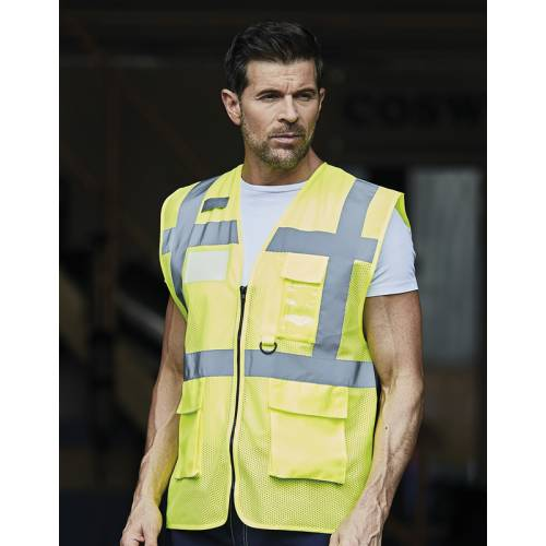 HVW820 | Gilet Fluo Open Mesh Executive