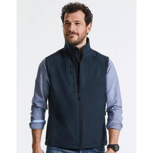 141M | GILET IN SOFT SHELL