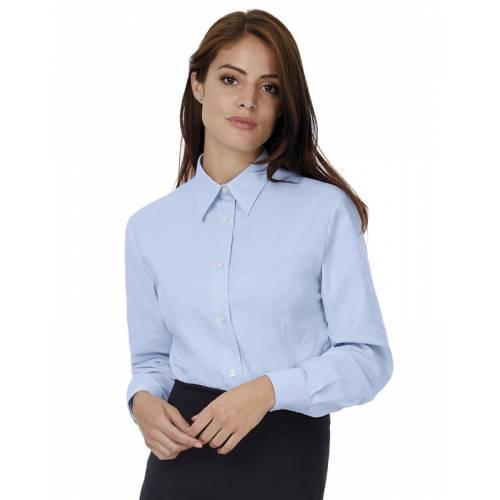 CSWO03 | Camicia donna maniche lunghe Oxford