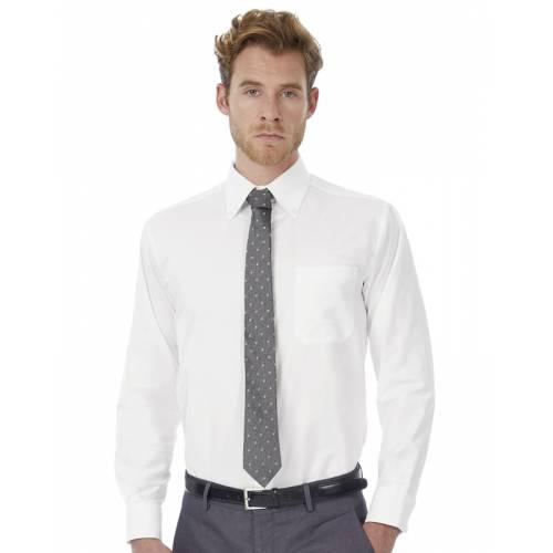CSMO01 | Camicia uomo maniche lunghe Oxford