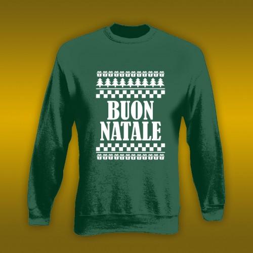 NATALE024 | Felpa Personalizzata donna - Buon Natale