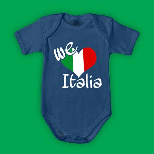 PRINT079 | Body Personalizzato neonato - We love Italia