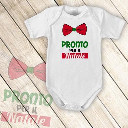 NATALE004 | Body Personalizzato neonato - Pronto per il Natale