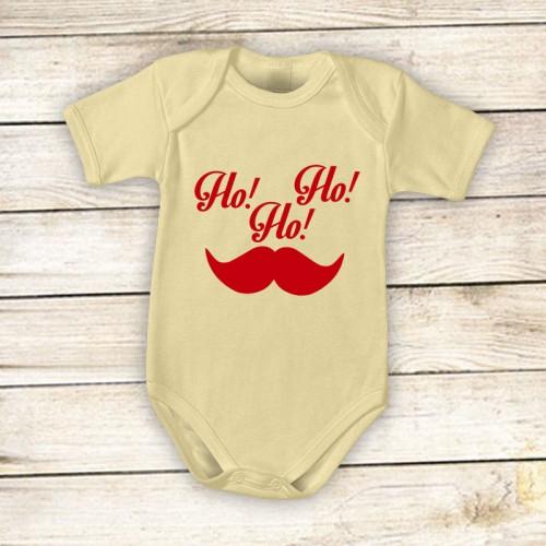 NATALE012 | Body Personalizzato neonato - Ho, ho, ho Natale