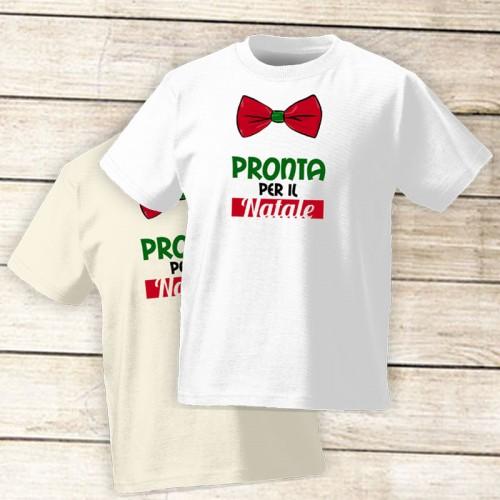 NATALE016 | T-shirt Personalizzata Bambini - Pronta per il Natale