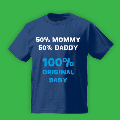 PRINT012 | T-shirt Personalizzata Bambini - Original Baby