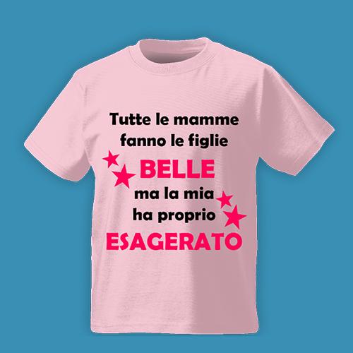 PRINT013 | T-shirt Personalizzata Bambini - Figlie belle