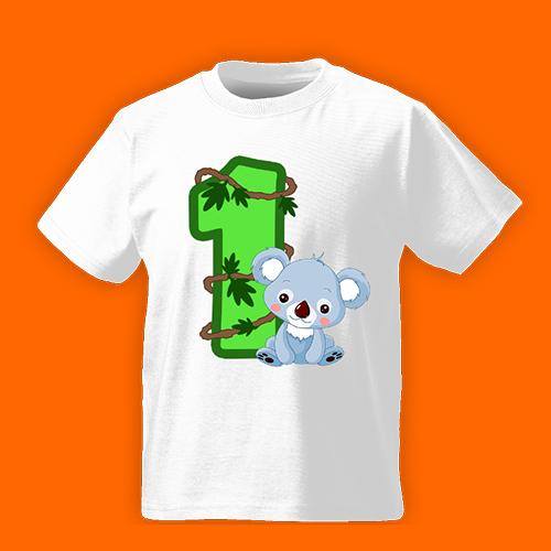 PRINT015 | T-shirt Personalizzata Bambini - Primo anno