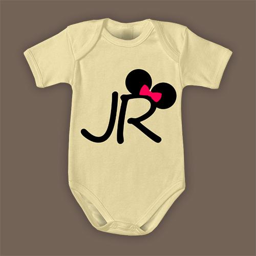 PRINT027 | Body Personalizzato neonato - Junior Mouse