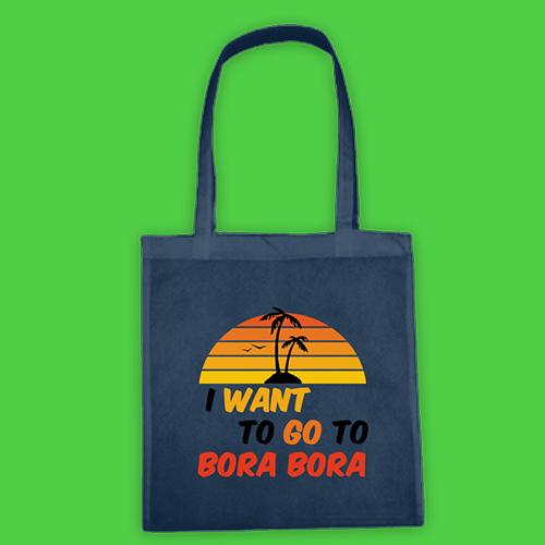 PRINT048 | Borsa Shopper Personalizzata - Bora Bora