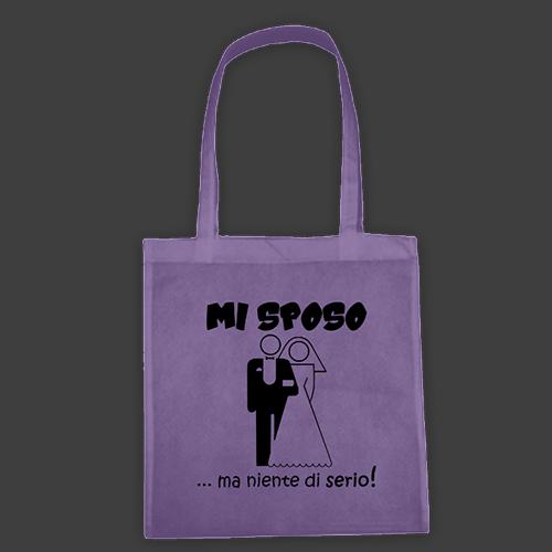PRINT050 | Borsa Shopper Personalizzata - Mi sposo ma...
