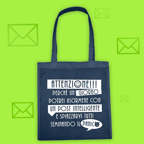 PRINT068 | Borsa Shopper Personalizzata - Un post intelligente