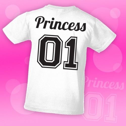 PRINT086 | T-shirt Personalizzata Bambini - Princess