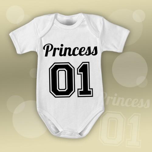 PRINT087 | Body Personalizzato neonato - Princess
