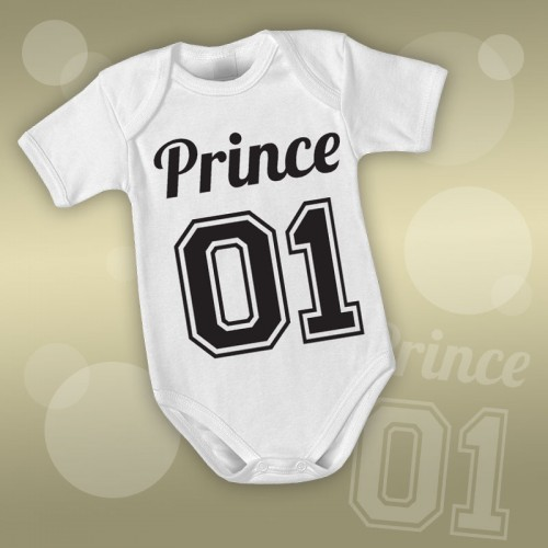 PRINT088 | Body Personalizzato neonato - Prince