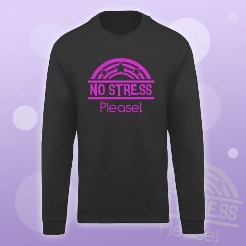 PRINT103 | Felpa Personalizzata - No Stress Please