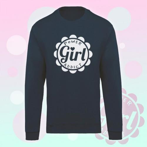 PRINT104 | Felpa Personalizzata - Power Girl Addict