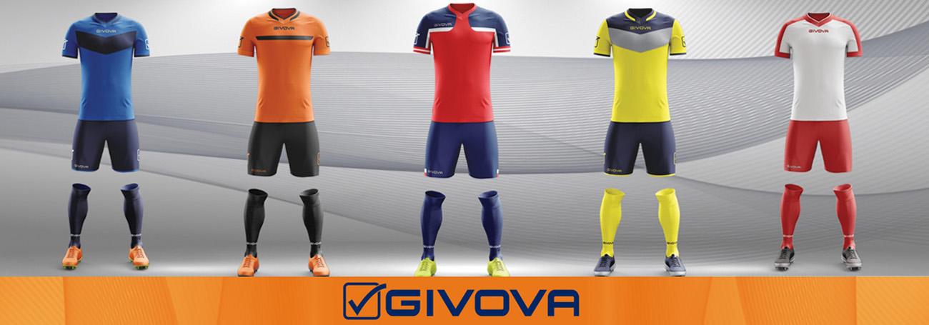 Givova, Abbigliamento tecnico sportivo online