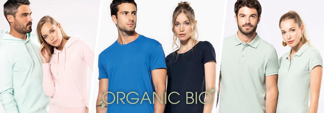Kariban, abbigliamento promozionale linea Organico Bio