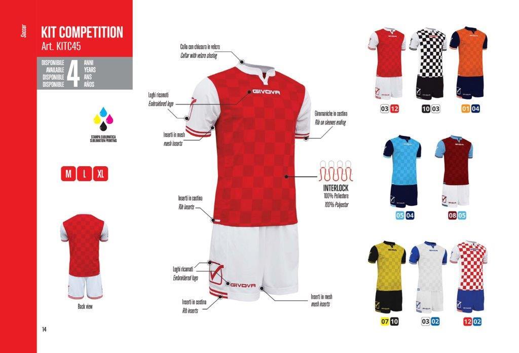 Kit Competition Calcio - Givova