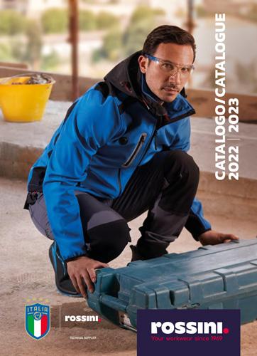 catalogo abbigliamento professionale e promozionale Rossini